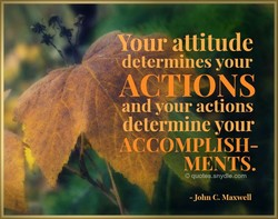KYour attitude 