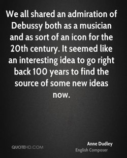 We all shared an admiration of 