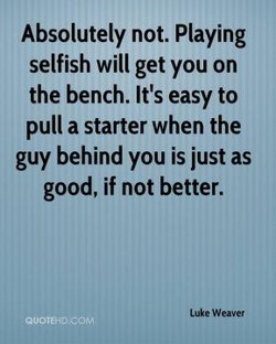 Absolutely not. Playing 