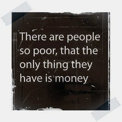 There are people 