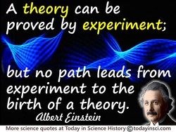 A theory can be 