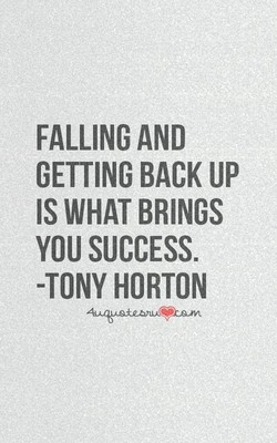 FALLING AND 