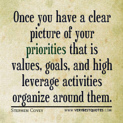 Once YOU have a clear 
