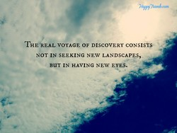 THLÄEAL VOYAGE OF DISCOVERY CONSISTS 