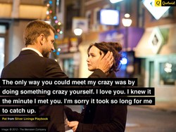 The only way you could meet my crazy was by 