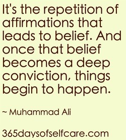 the repetition Of 