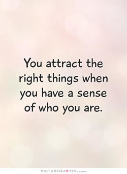 You attract the 