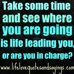 Take some time 