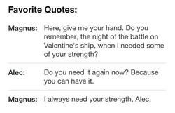 Favorite Quotes: 