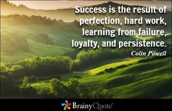 uccess is the res 