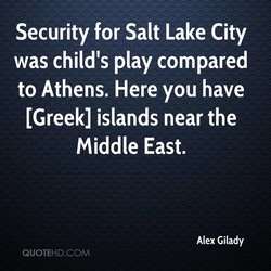 Security for Salt Lake City 