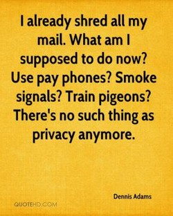 I already shred all my 