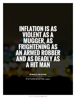 INFLATION IS AS 
