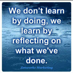 We don't learn 