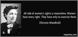 NI talk of women's rights is mmnshine. Women 