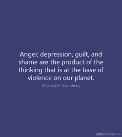 Anger, depression, guilt, and 