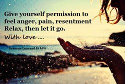Give yourself permission to 