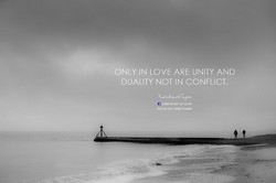 ONLY IN LOVE ARE UNITY AND 