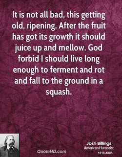 It is not all bad, this getting 