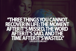 'TREE THINGSYOUCANNOT 