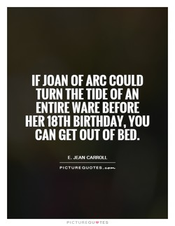 IF JOAN OF ARC COULD 