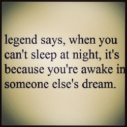 legend says, when you 