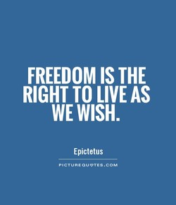 FREEDOM IS THE 