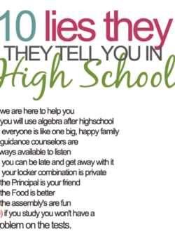 10 lies they 