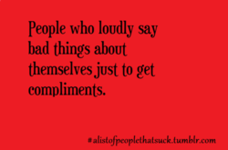 people who IOUdly say 