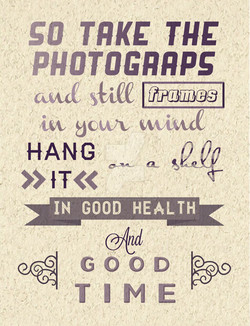 SO TAKE THE 
