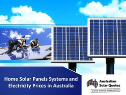 Home Solar Panels Systems and 