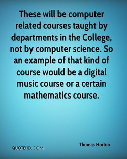These will be computer 