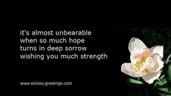 it's almost unbearable 