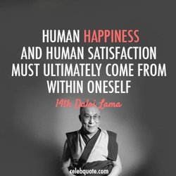HUMAN HAPPINESS 