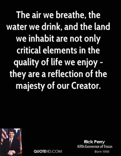 The air we breathe, the 