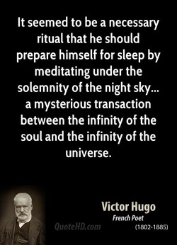 It seemed to be a necessary 