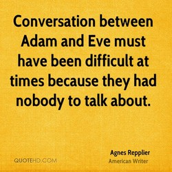 Conversation between 