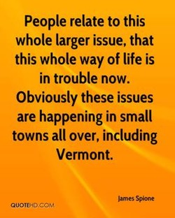 People relate to this 