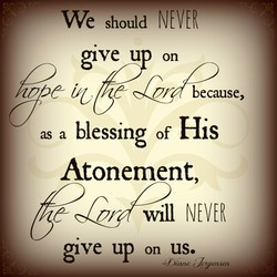 we should NEVER 