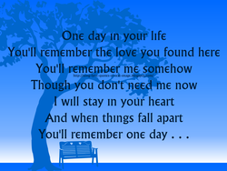 One day In your life 
