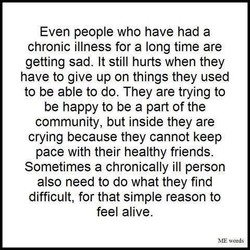 Even people who have had a 