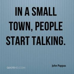 IN A SMALL 