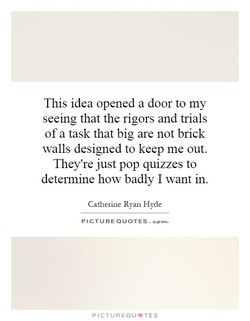 This idea opened a door to my 