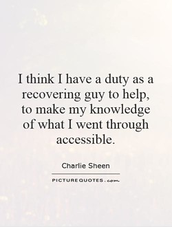 I think I have a duty as a 