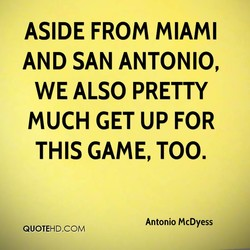 ASIDE FROM MIAMI 