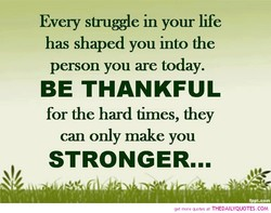Every in your life 