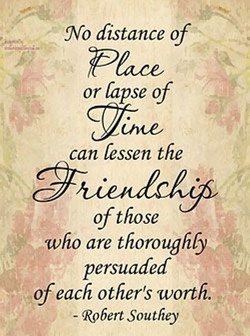 No distance of 