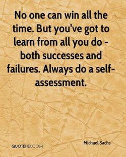 No one can win all the 