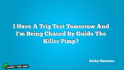 1 Have A Mg Test Tomorrow And 