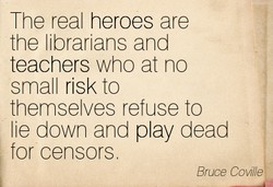 The real heroes are 